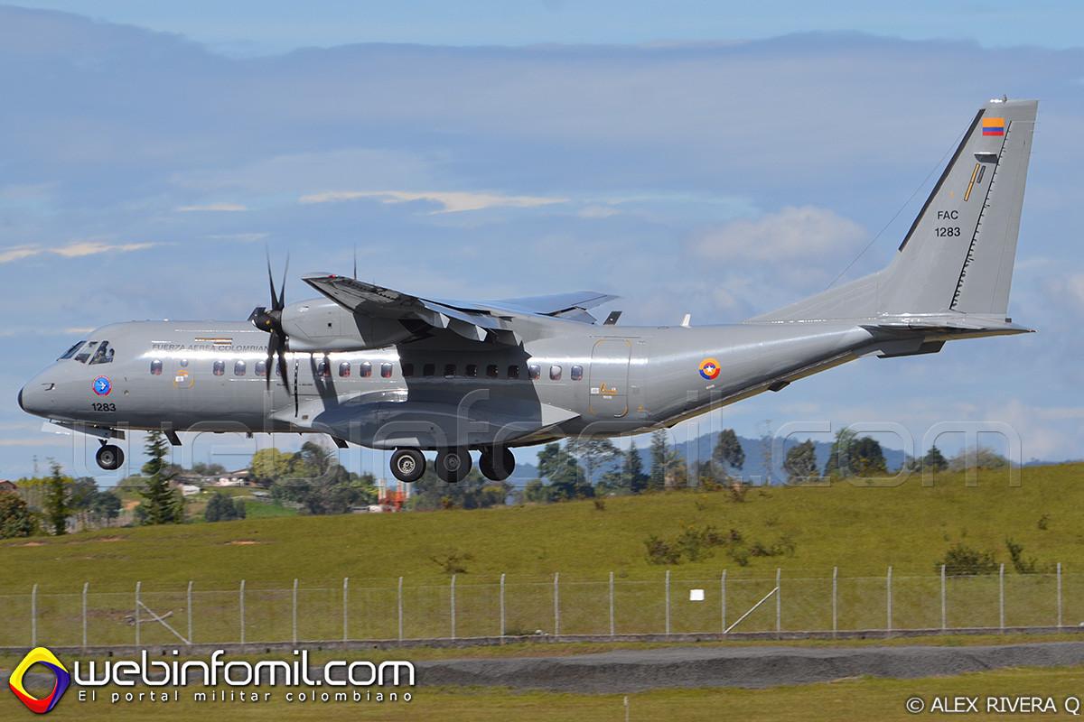 fac1283 fuerza aerea colombiana c-295
