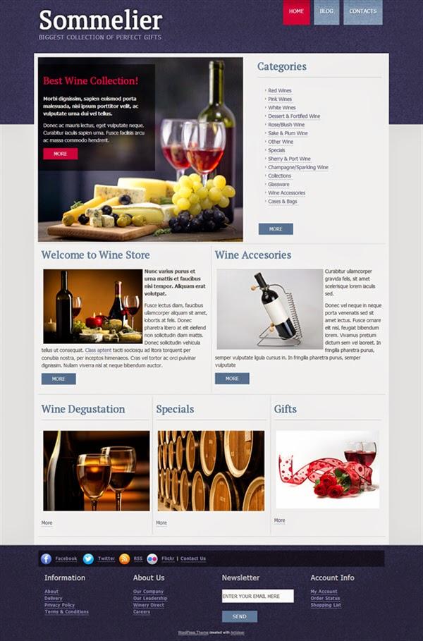 Wine Guru - Free Wordpress Theme