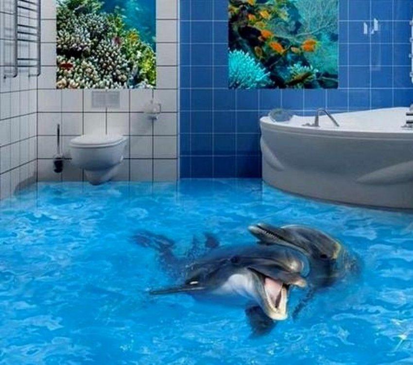 3D Floor Ocean 5