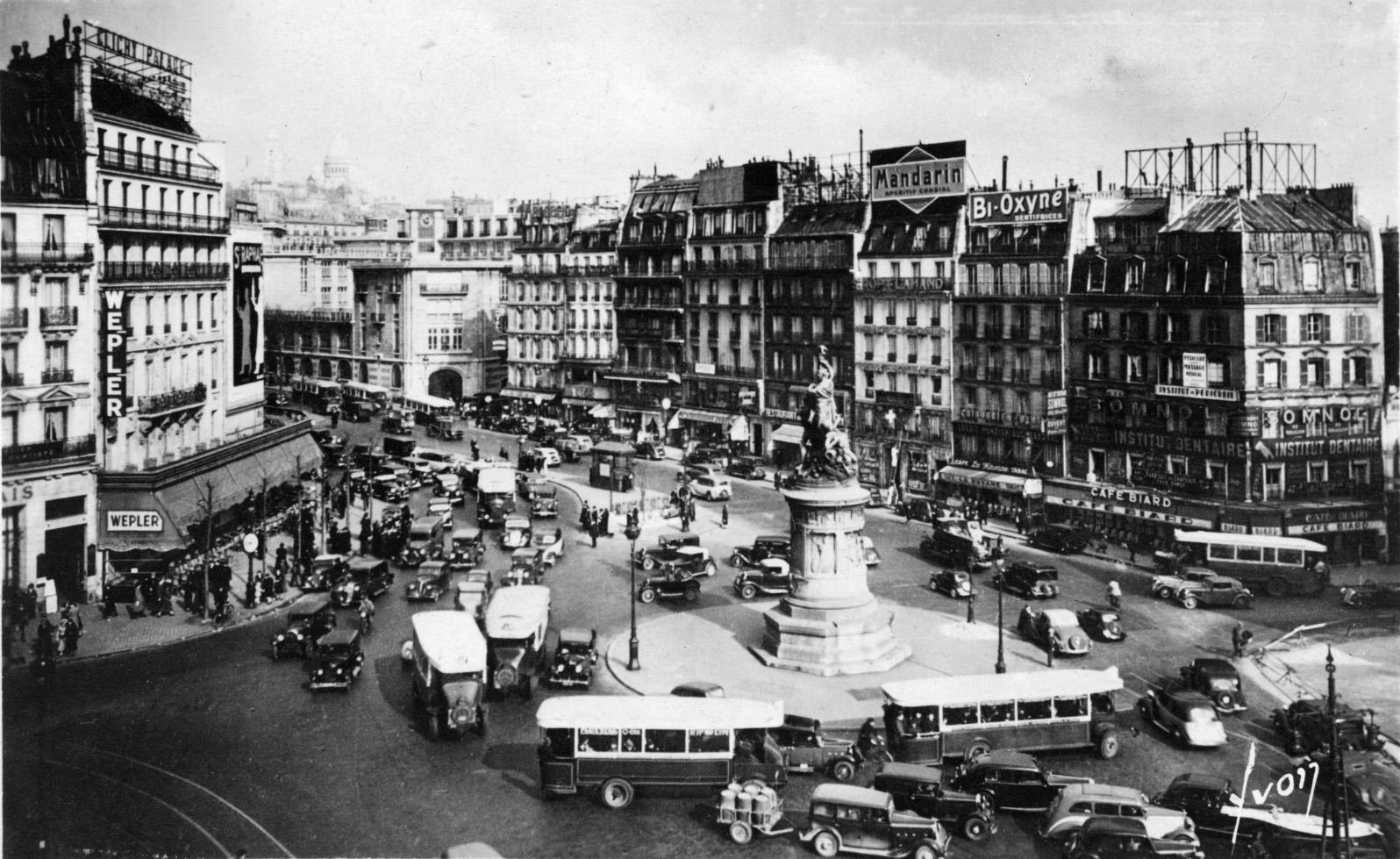 Clichy France  City new picture : TISOTIT: Place de Clichy Paris