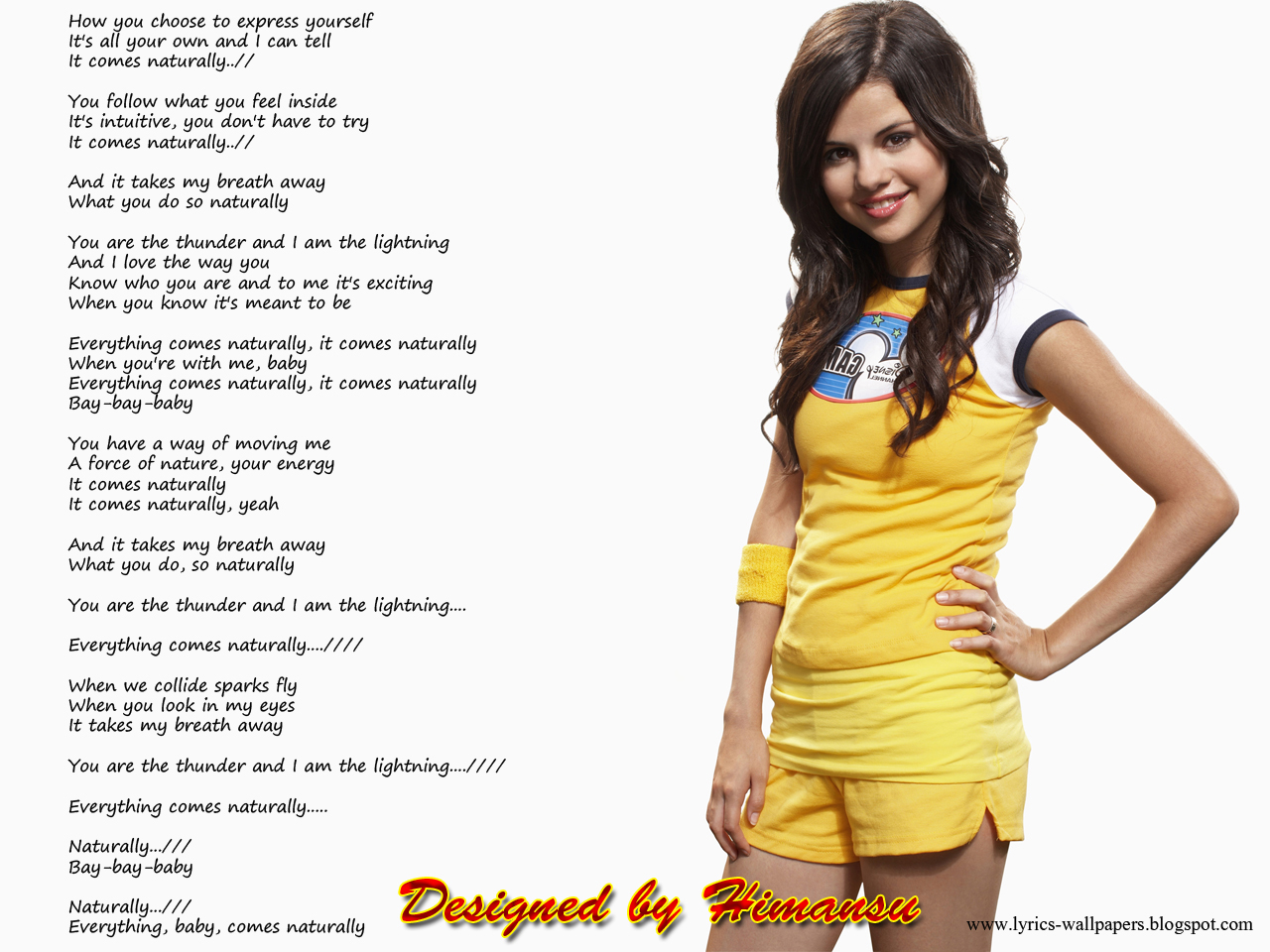 Lyrics Wallpapers - Selena