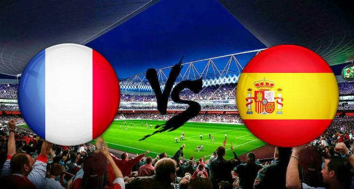 Prediksi Bola Perancis vs Spanyol 5 September 2014