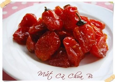 Cách làm mứt cà chua bi Đà Lạt cực ngon