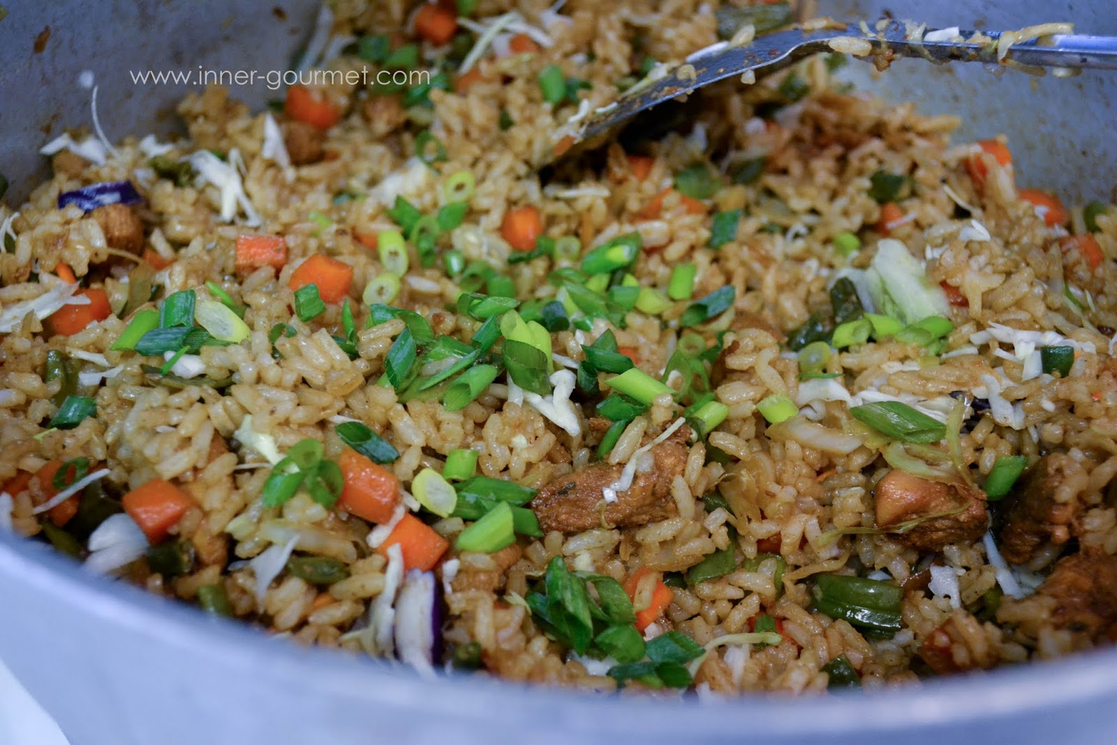 Guyanese style fried rice alicas pepper pot add scallions to garnish adjust salt to taste forumfinder Images