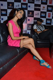 WWW..BLOGSPOT Bollywood Tollywood Indian Actress Sarah Jane Dias  at Game Film Event Picture Stills Gallery 0010