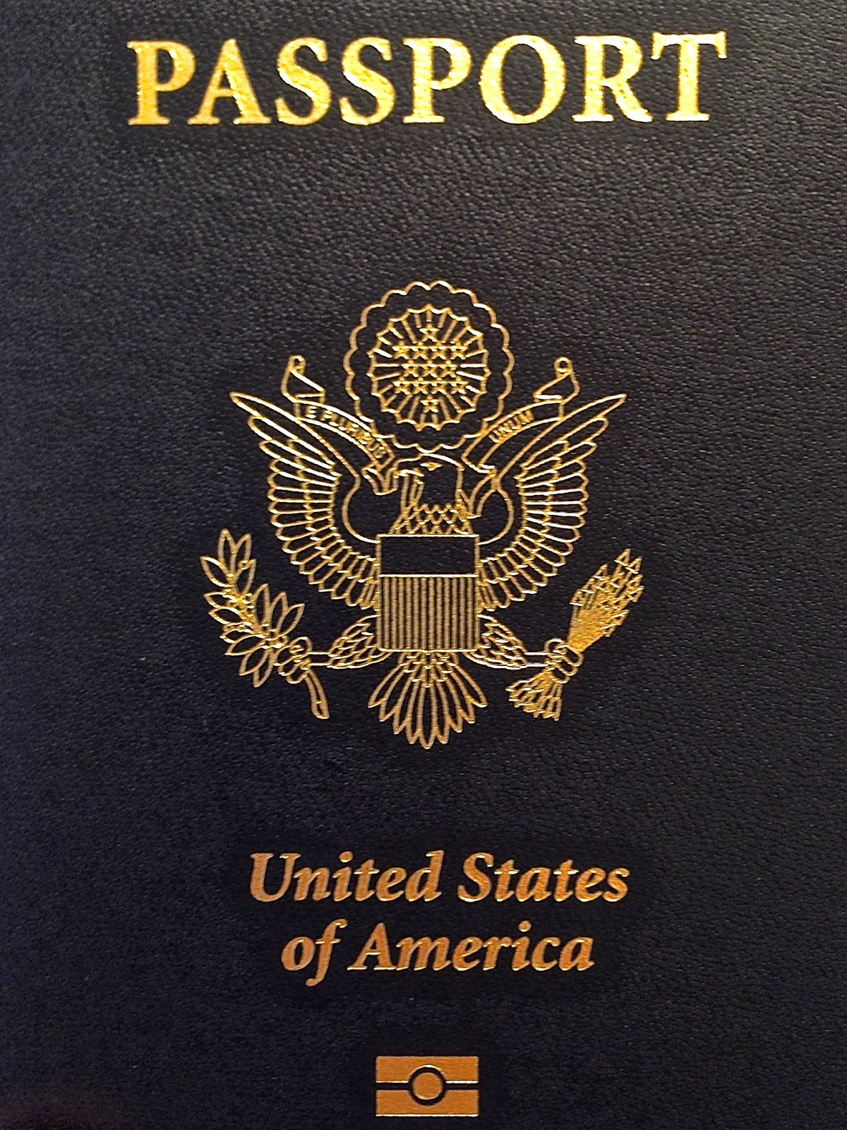 United States of America passport book