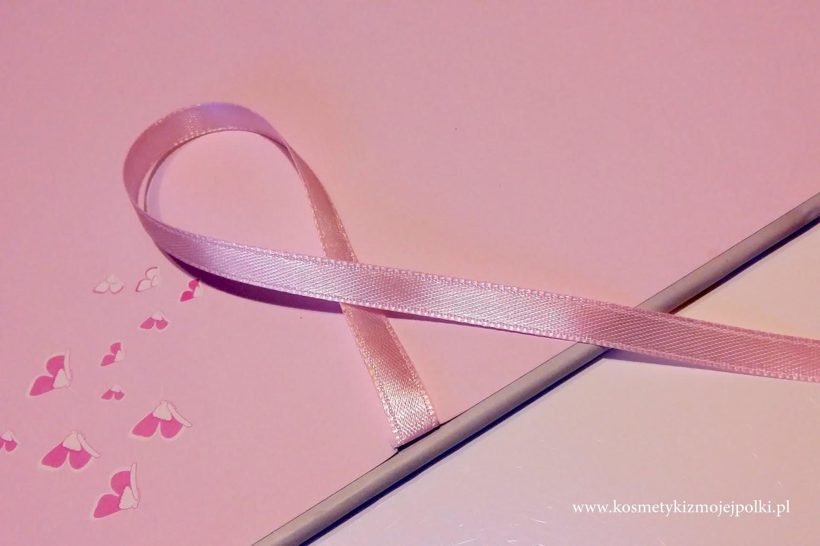 Różowa wstążka | październik miesiącem walki z rakiem piersi