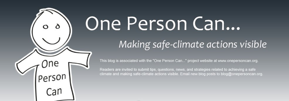 "The ""One Person Can..."" blog"
