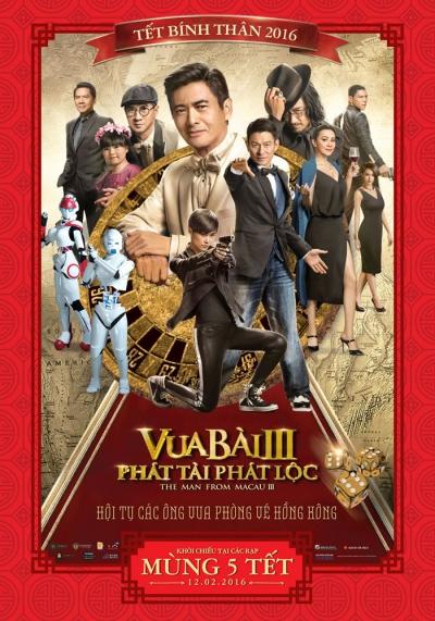 Vua Bài 3: Phát Tài Phát Lộc - From Vegas to Macau III