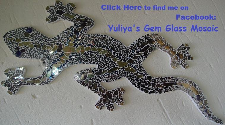 Yuliya's Gem Glass Mosaic