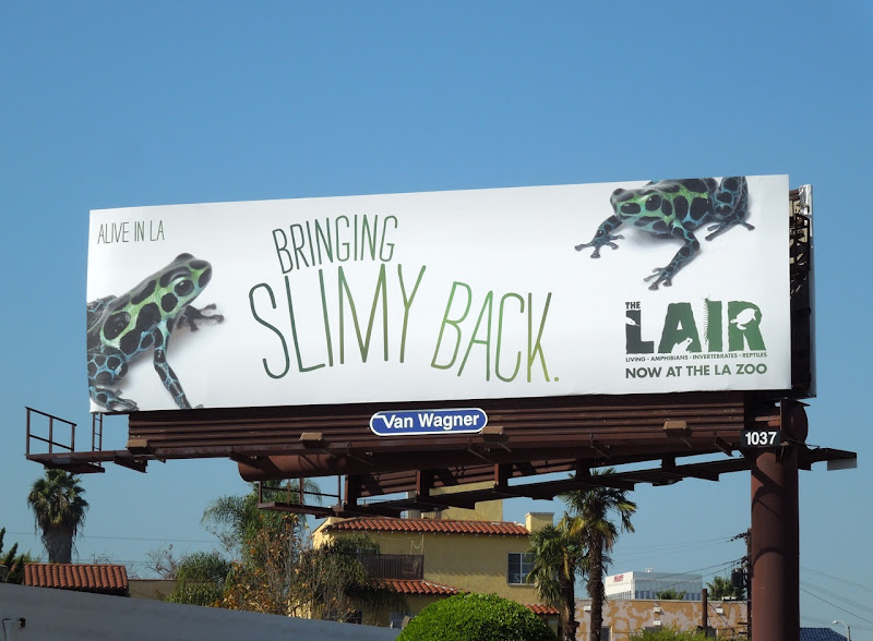 Frog LA Zoo billboard