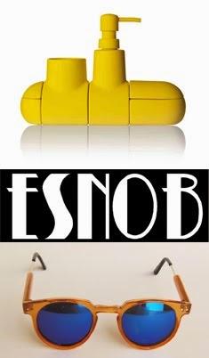 Esnob tienda online de accesorios y decoración, una muy cuidada selección de productos de diseño.