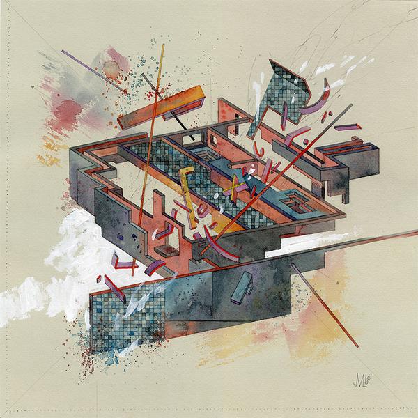 Jacob Van Loon - Collider/Station. Drawings