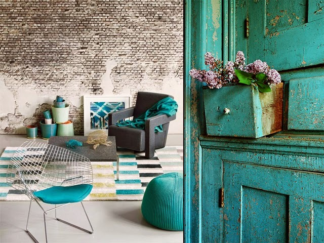Lovers of mint blog d co boh me et cool lifestyle for Deco chambre bleu canard