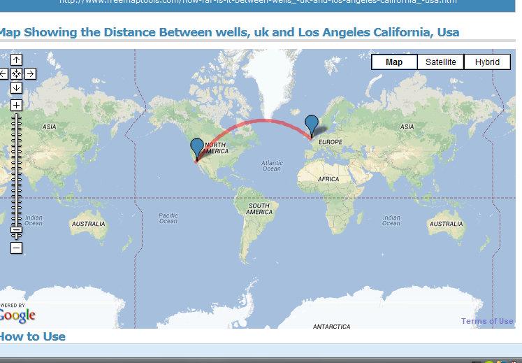 Distance between dates in Sydney