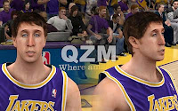 NBA2K12 LA Lakers Cyberface Patches T murphy