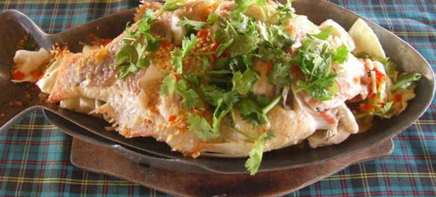 Thai food recipes fish in spicy lime for 99 5 the fish