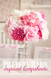 DIY POTTERYBARN LAMP SHADE