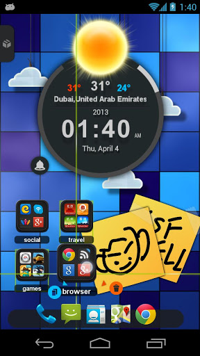 TSF Shell 3D Launcher 2.0.6 screenshot