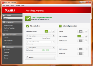 Avira antivirus software