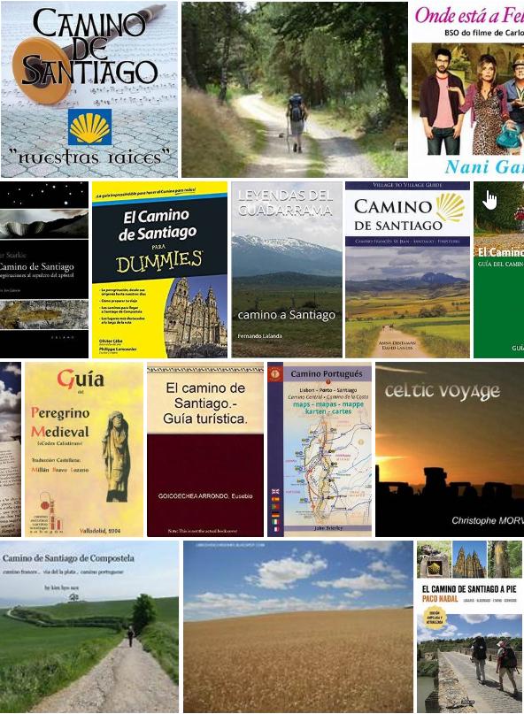 Libros sobre el Camino