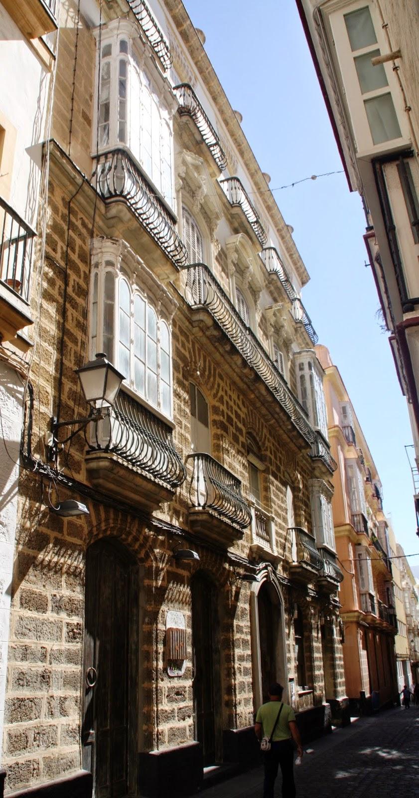 Calle ancha la casa del pirata en 1835 - La casa del pirata cadiz ...