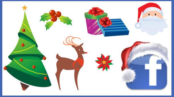 simbolos para facebook de navidad emoticones para facebook