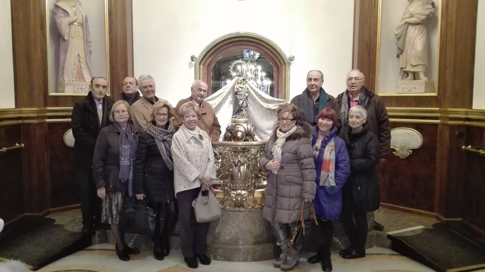 Peregrinació de l'Agrupació Pericial de Reus (6-3-2016)