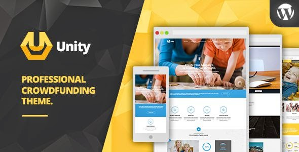 unity wordpress theme