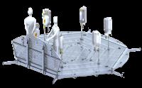 Modular design with light-weight aluminum