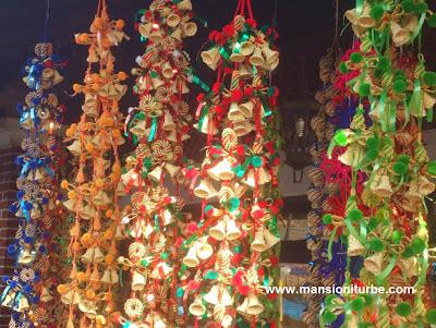 Adornos para su árbol de Navidad de fibras vegetales
