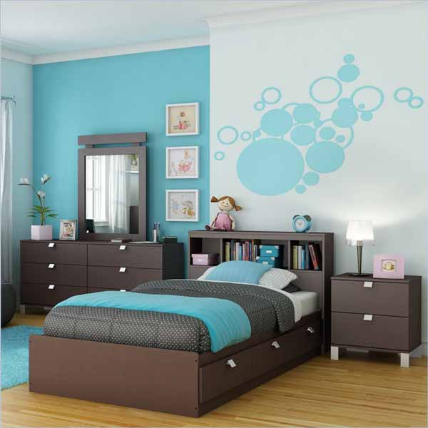 Kids bedroom decorating ideas for Bedroom furnishing ideas