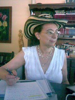 Escritora del taller Tierra de trampas, Silvia Medina