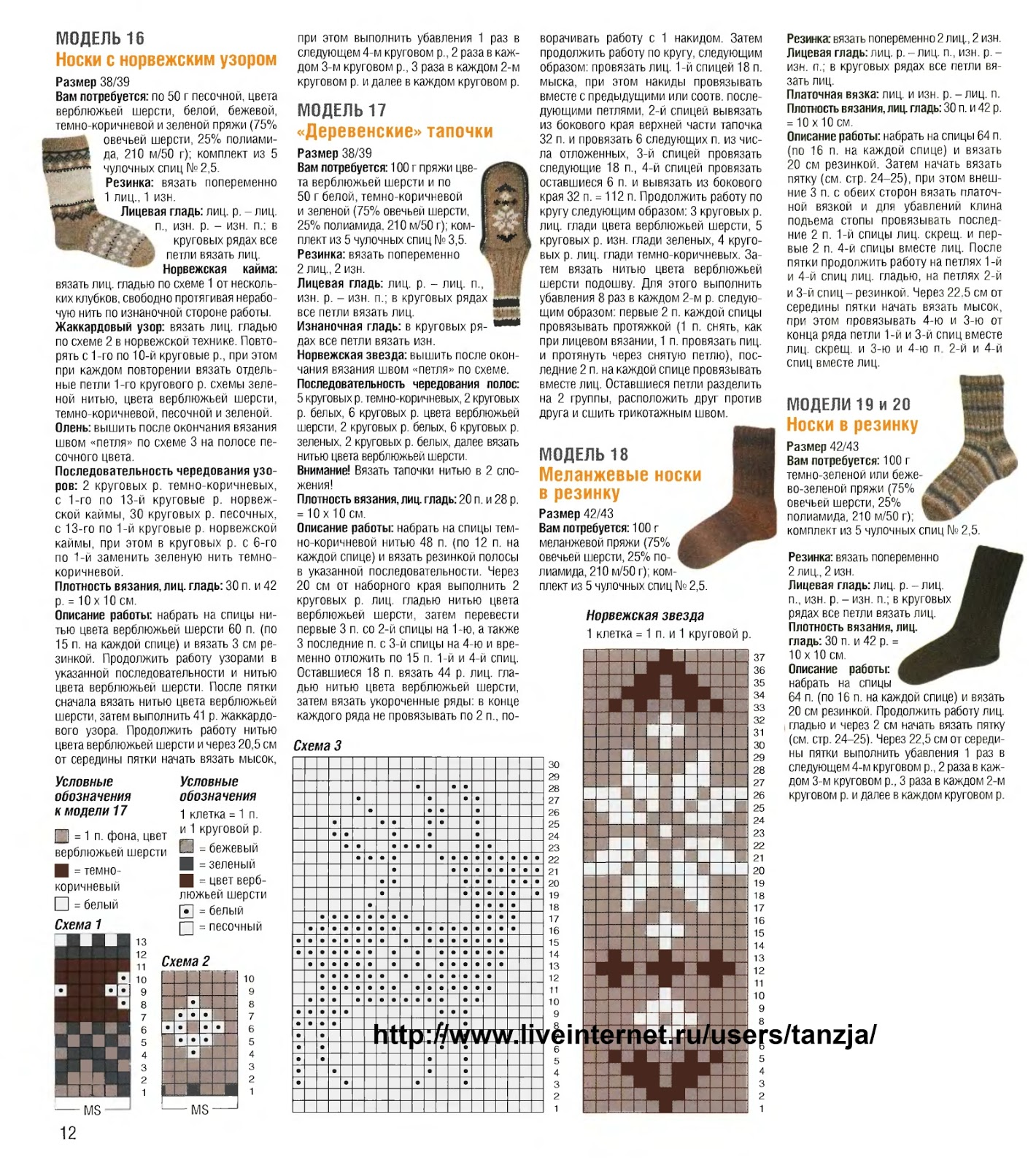 Ажурные носки спицами схемы с описанием: 25 тыс изображений 87
