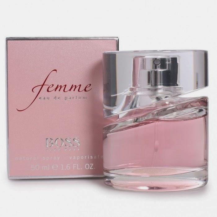 new hugo boss femme by hugo boss eau de parfum spray full size retail packaging shopping. Black Bedroom Furniture Sets. Home Design Ideas