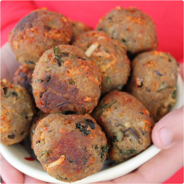 Alb ndigas de berenjena receta vegetariana for Blogs cocina vegetariana