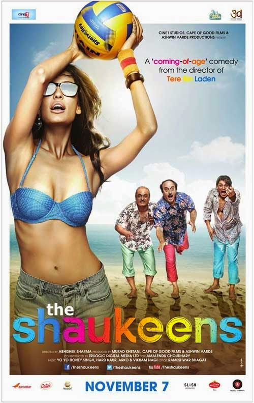 Shaukeens Movie Poster