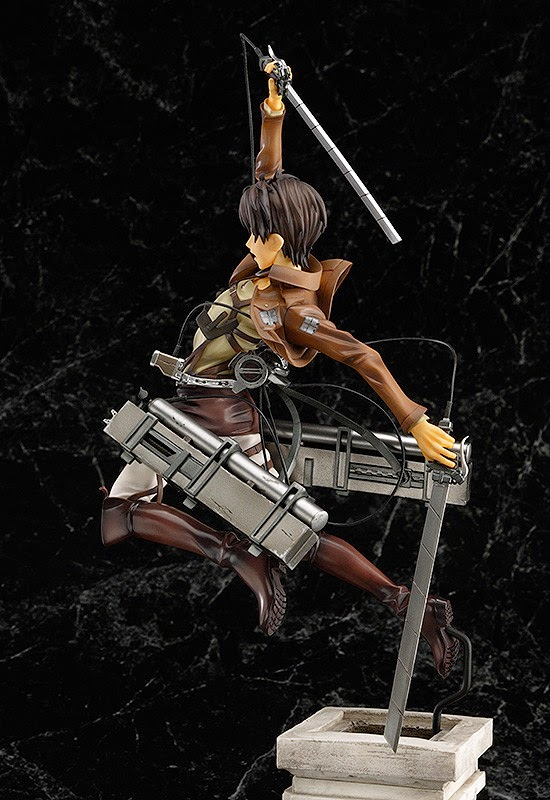 1/8 scale eren yeager attack on titan