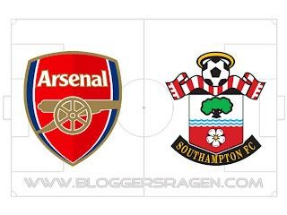 Prediksi Pertandingan Southampton vs Arsenal