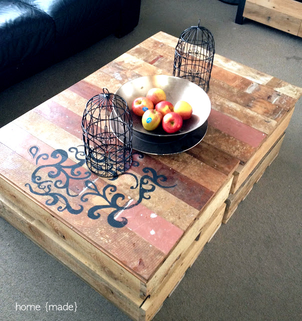 Crate coffee tables by Home Made via I Love That Junk