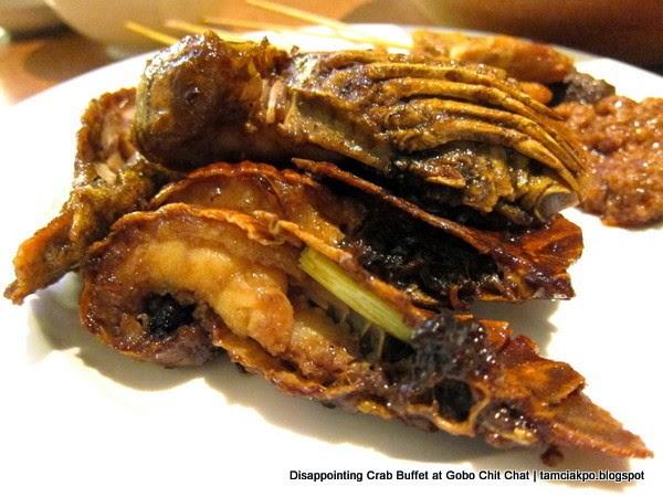 Crab Buffet at Gobo Chit Chat
