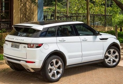 2015 Range Rover Evoque Rear View