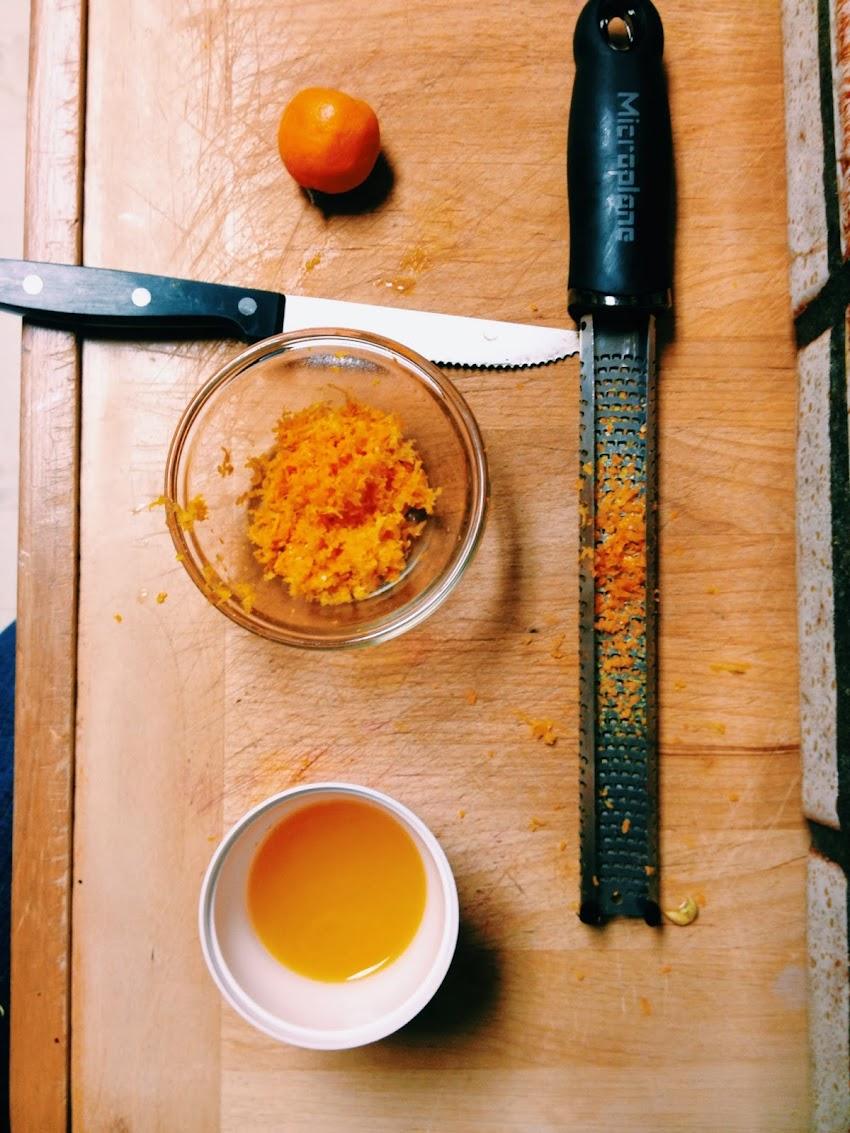 Recipe: Rangpur Lime Bars