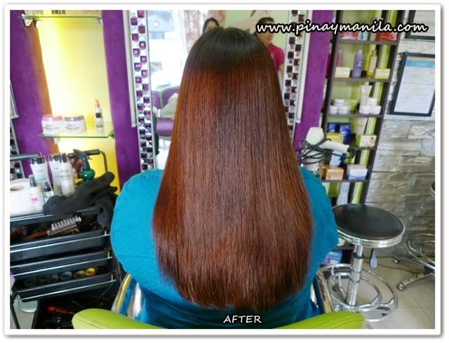 Ahglow Rebonded Hair