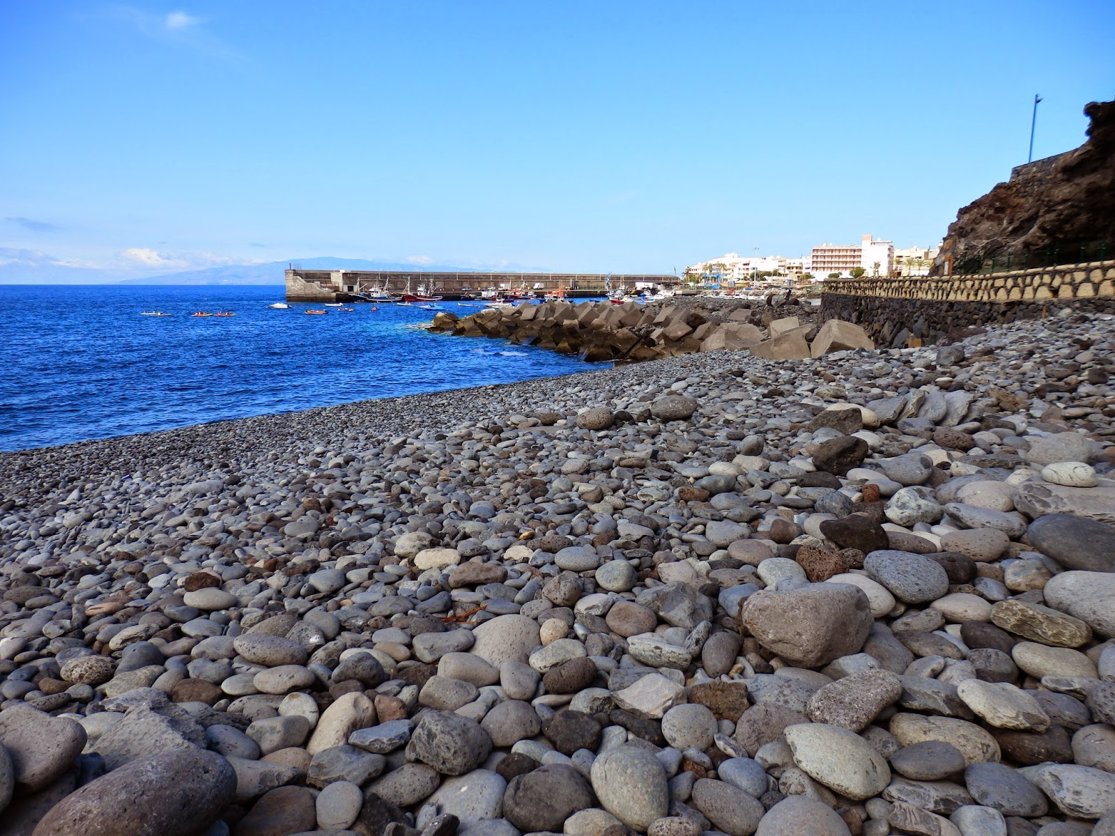 Pebble beach Tenerife