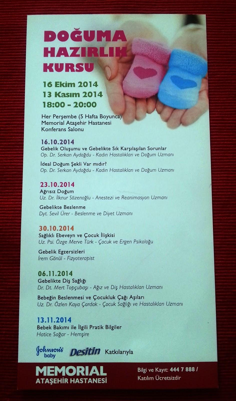 ücretsiz doğuma hazırlık kursu