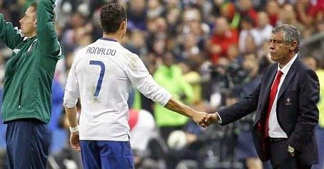 Manajer Timnas Portugal Sanjung Crystiano Ronaldo
