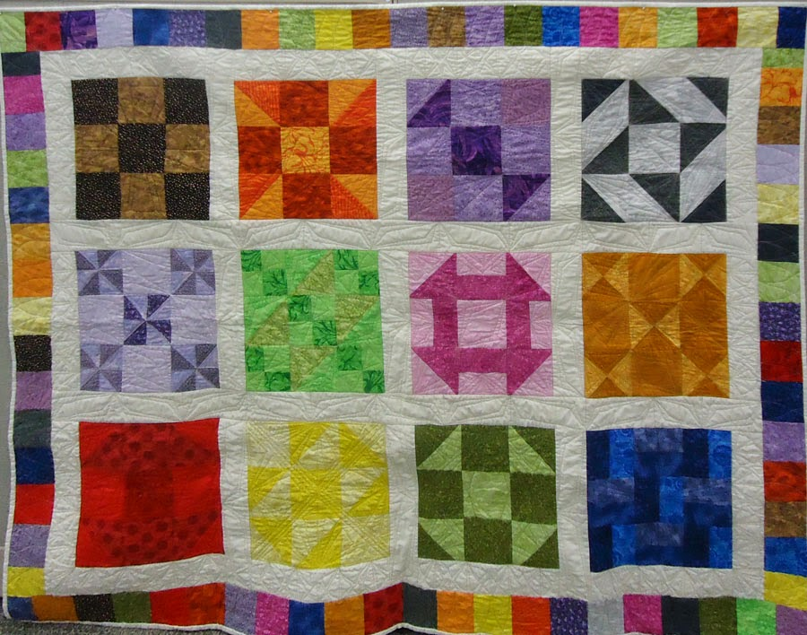 Finished Beginner's Quilt-Along Quilt