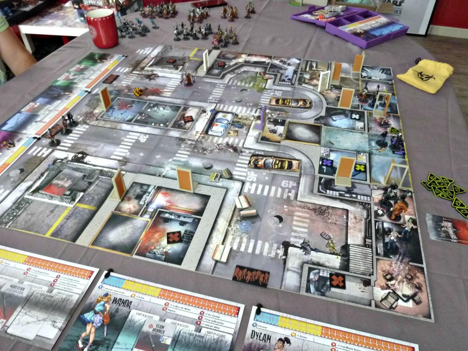 Zombicide prison outbreak the blueprints for Porte zombicide