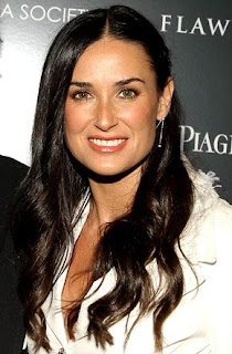 Celebrity Demi Moore Hairstyle ideas for girls